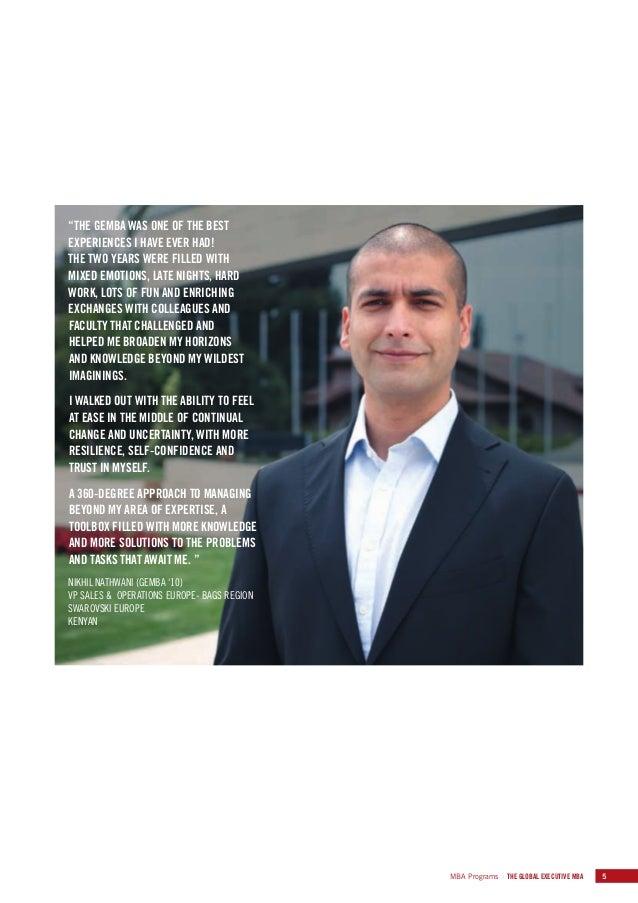 Iese Global Executive Mba Brochure