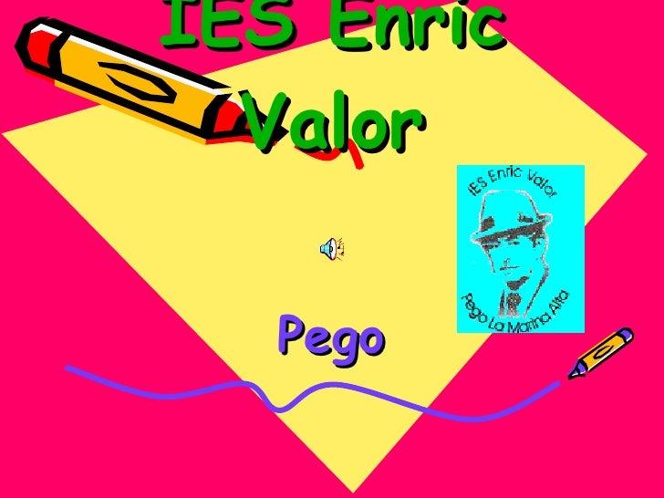 IES Enric Valor Pego