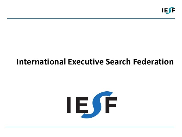 International Executive Search Federation