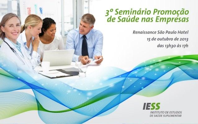 Programas de promoção da saúde no ambiente de trabalho  Funcionam! Alberto Ogata