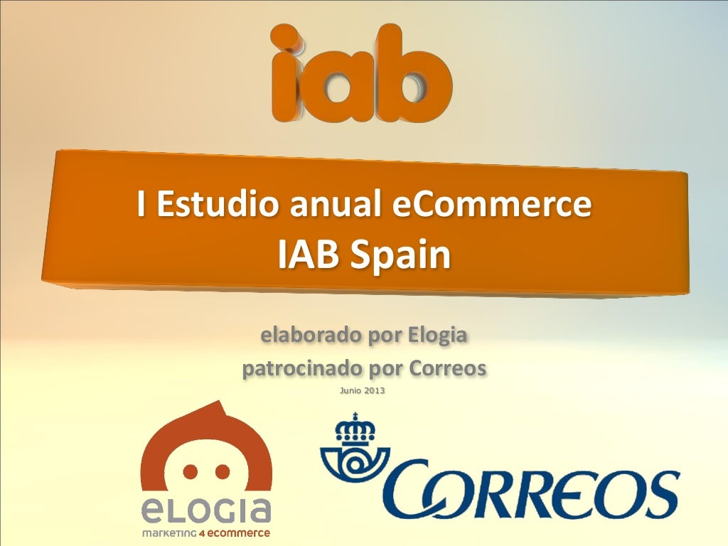 I Estudio anual eCommerce IAB Spain