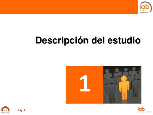 I Estudio anual sobre eCommerce en España de IAB Spain con Elogia Slide 2