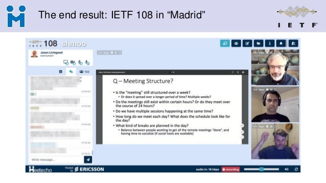"""The end result: IETF 108 in """"Madrid"""""""