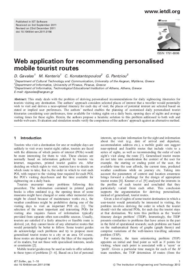 www.ietdl.org    Published in IET Software    Received on 3rd September 2011    Revised on 23rd December 2011    doi: 10.1...
