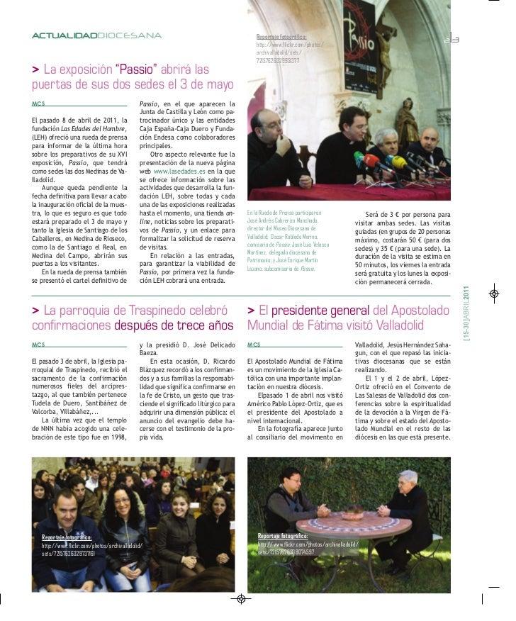 Iglesia en Valladolid: 2ª quincena abril Slide 3