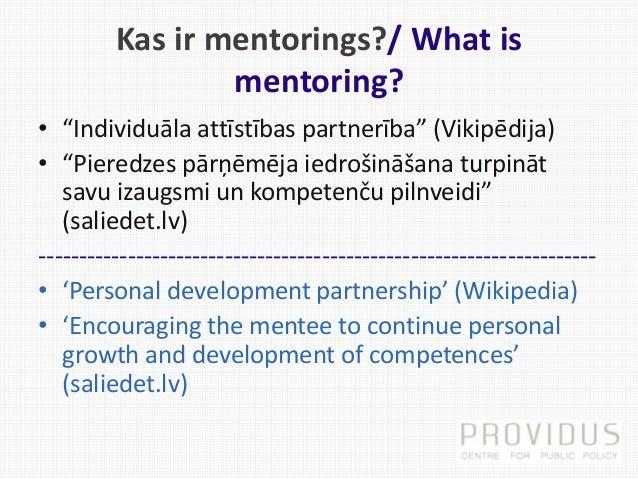 Ievads mentoringa pieejā. 1.daļa Slide 2