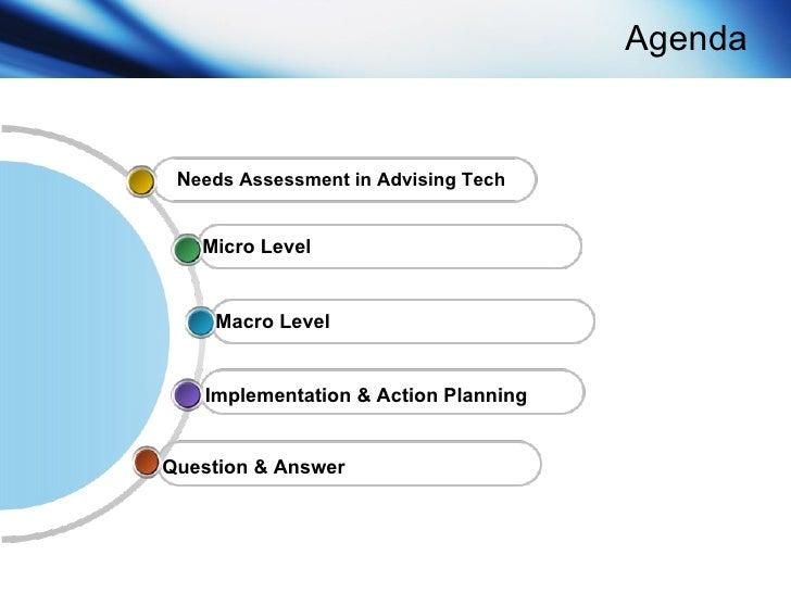 Advising Technology: The Needs Assessment & Implementation Process Slide 3