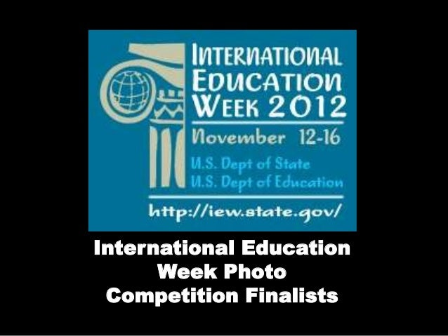 International Education Week Photo Competition Finalists