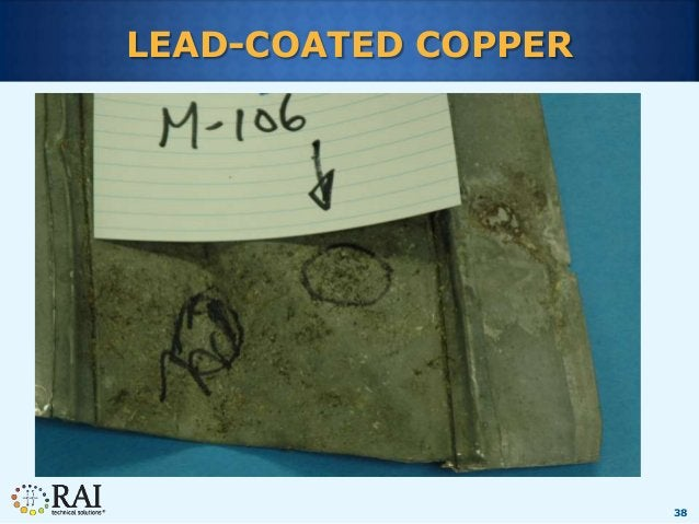 38 LEAD-COATED COPPER