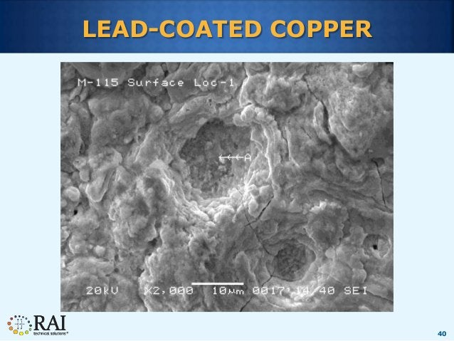 40 LEAD-COATED COPPER
