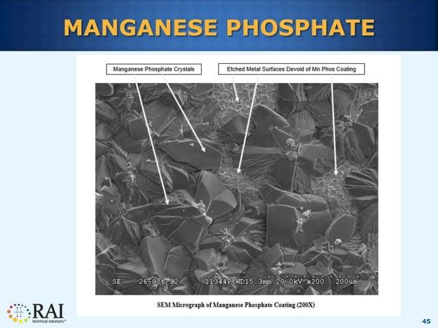 45 MANGANESE PHOSPHATE
