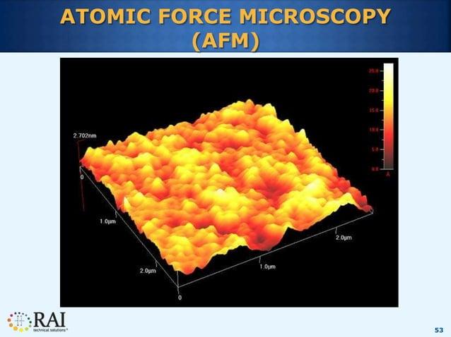 53 ATOMIC FORCE MICROSCOPY (AFM)