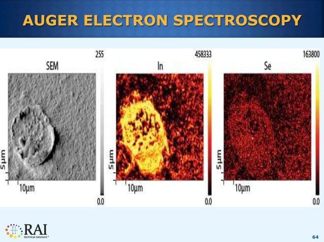 64 AUGER ELECTRON SPECTROSCOPY
