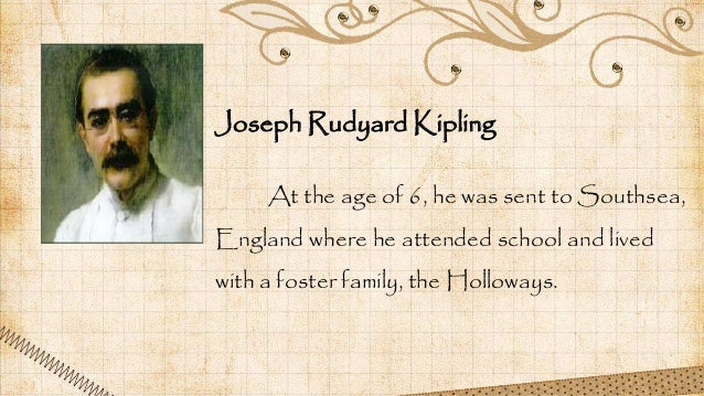 At the age of 6, he was sent to Southsea, England where he attended school and lived with a foster family, the Holloways. ...