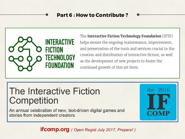Interactive Fiction - Text Based Game