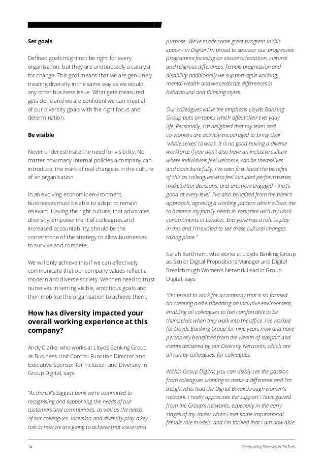 Celebrating Diversity in FinTech