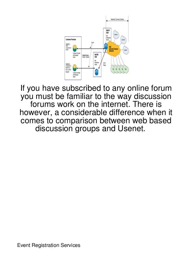 If you have subscribed to any online forum you must be familiar to the way discussion     forums work on the internet. The...