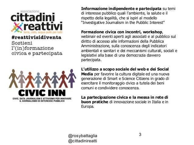 Il Web come strumento per promuovere sfide sociali e battaglie civili #IF2017 Slide 3