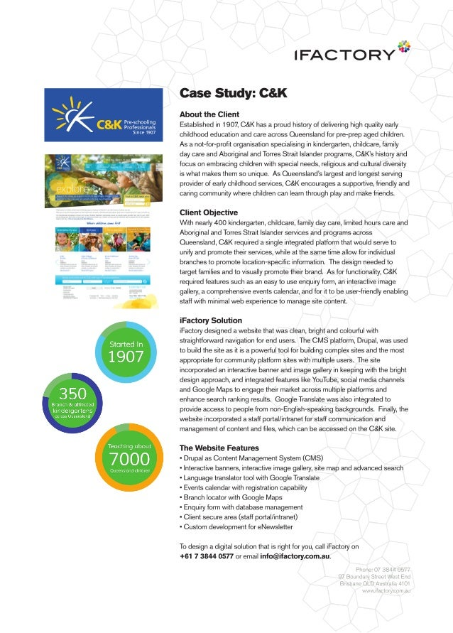 Case Study: C&K by iFactory