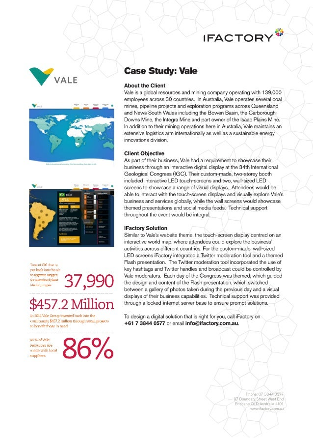 Case Study: Vale by iFactory