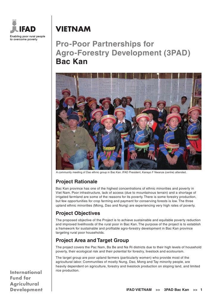 VIETNAMEnabling poor rural peopleto overcome poverty                             Pro-Poor Partnerships for                ...