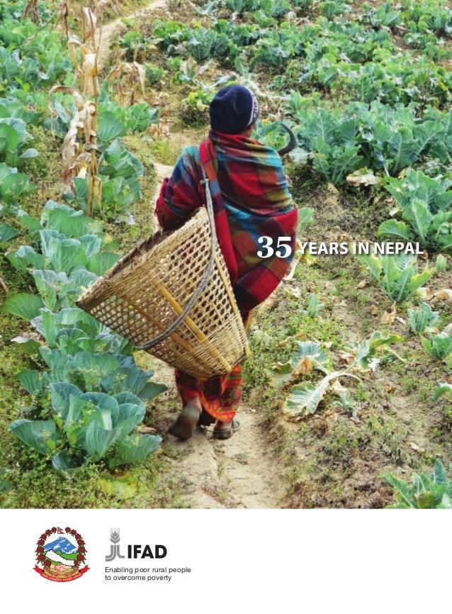 35 YEARS IN NEPALEnabling poor rural peopleto overcome poverty
