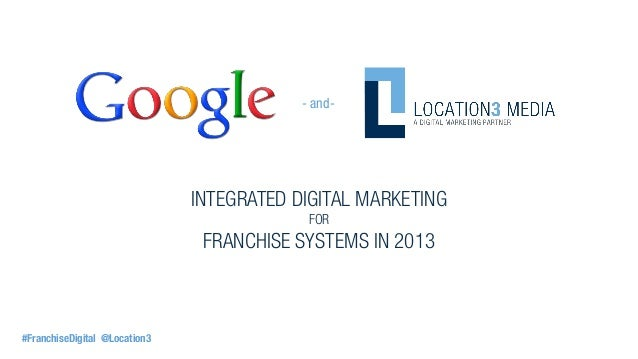 - and-                               INTEGRATED DIGITAL MARKETING                                            FOR          ...