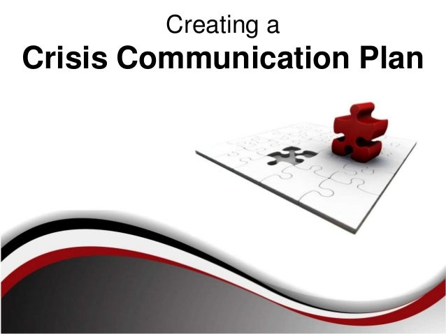 Creating aCrisis Communication Plan