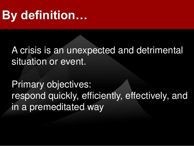 how to write a crisis communication plan