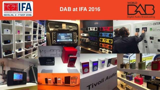 DAB at IFA 2016