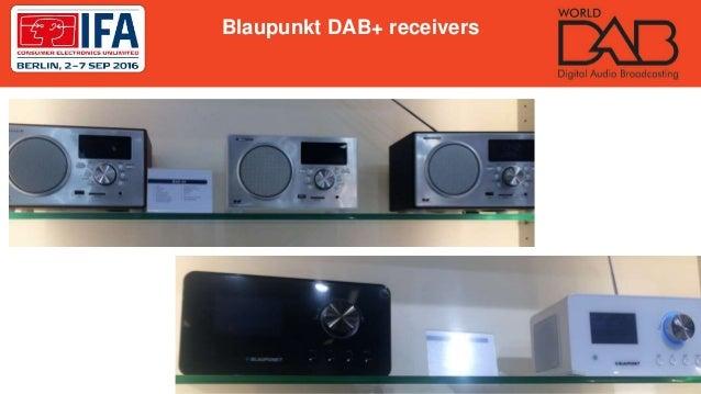 Blaupunkt DAB+ receivers