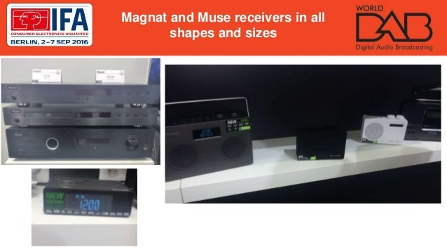 Magnat and Muse receivers in all shapes and sizes