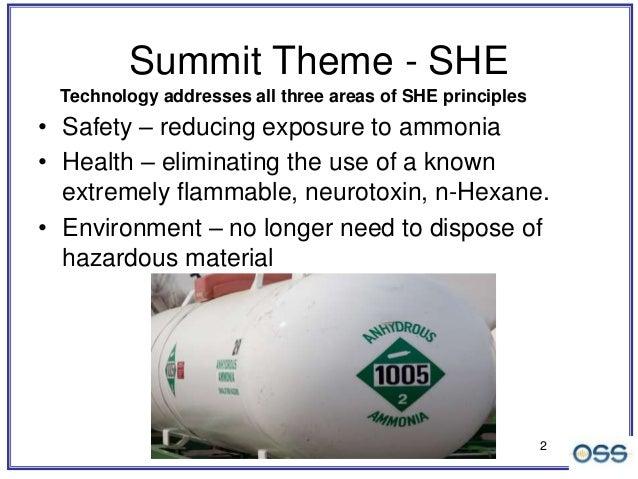 Measuring Oil in Ammonia - OSS ClearShot Technology Slide 2