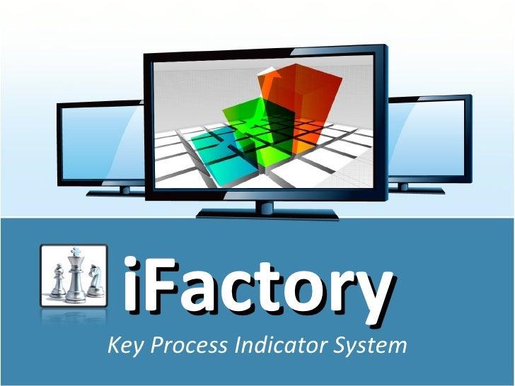 iFactoryKey Process Indicator System