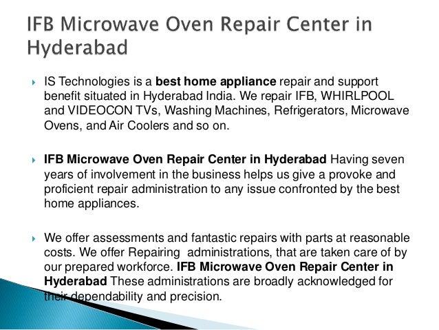 Ifb Microwave Oven Repair Center In Hyderabad