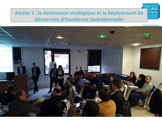15/02/16 IFCEO-Dynamiquededéploiement-2015 2-Moyens/feuillederoute Faireconvergerlesenjeuxstratégiques...