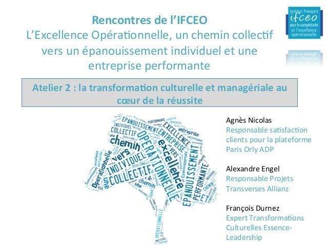 2-Aucentre:Auservicedel'évoluIondurôlemanagérial 15/02/16 IFCEO-Dynamiquededéploiement-2015 18 Lescar...