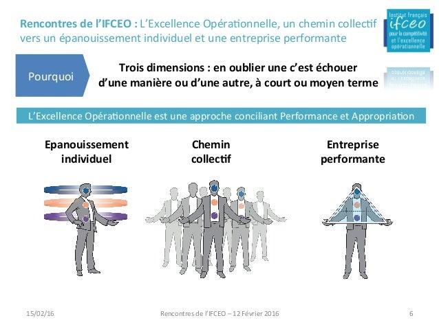 Rencontresdel'IFCEO:L'ExcellenceOpéra/onnelle,unchemincollec/f versunépanouissementindividueletuneentrepris...