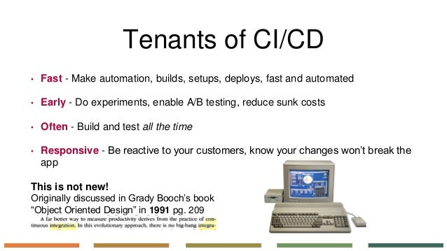 If ci/cd teams have time for security, so do you Slide 3
