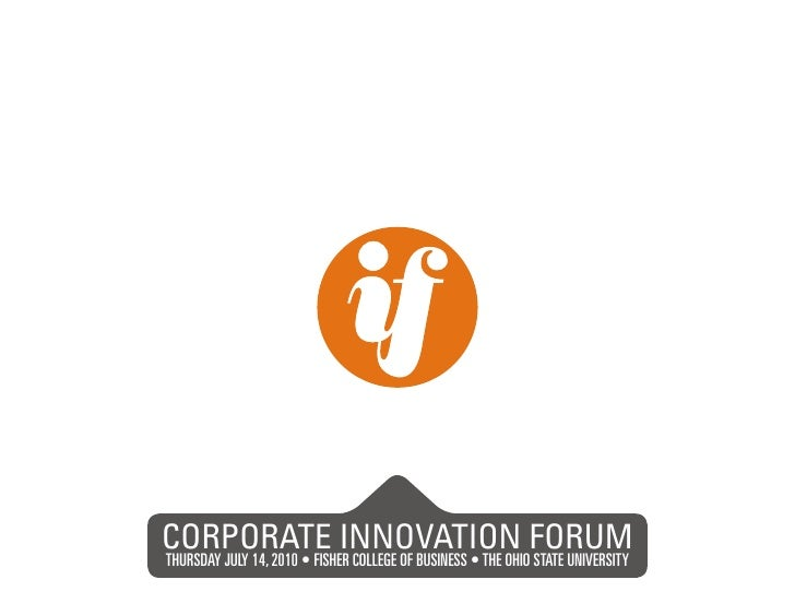 CORPORATE INNOVATION FORUM