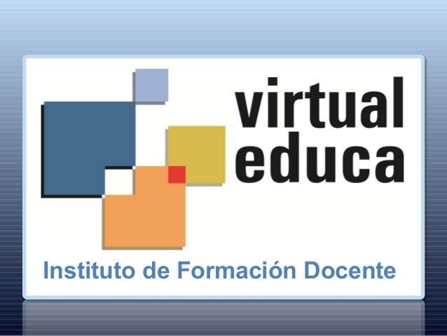 Instituto de Formación Docente