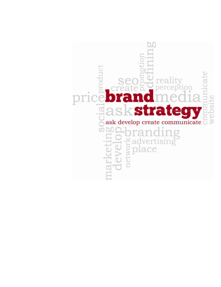 """It takes people withvision, insight, and dedicationto build powerful brands - the   vision to link brand withbusiness str..."