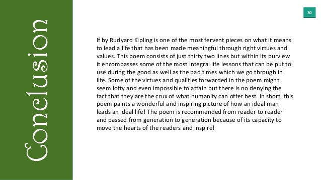 rápido Rústico Zapatos  IF by Rudyard Kipling- Detailed Summary and Analysis