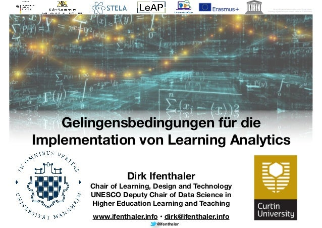 @ifenthaler https://towardsdatascience.com/10-machine- learning-algorithms-you-need-to-know-77fb0055fe0 Dirk Ifenthaler Ch...