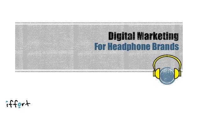 For Headphone Brands