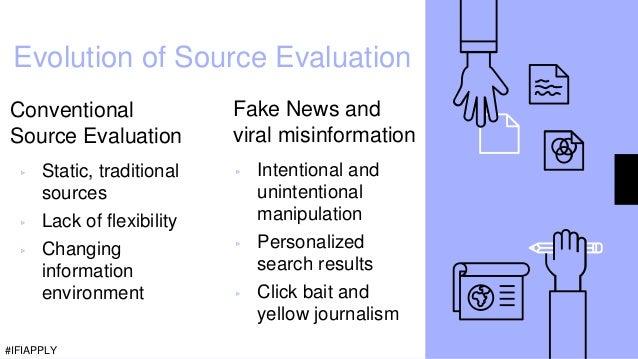 Evolution of Source Evaluation Conventional Source Evaluation ▹ Static, traditional sources ▹ Lack of flexibility ▹ Changi...
