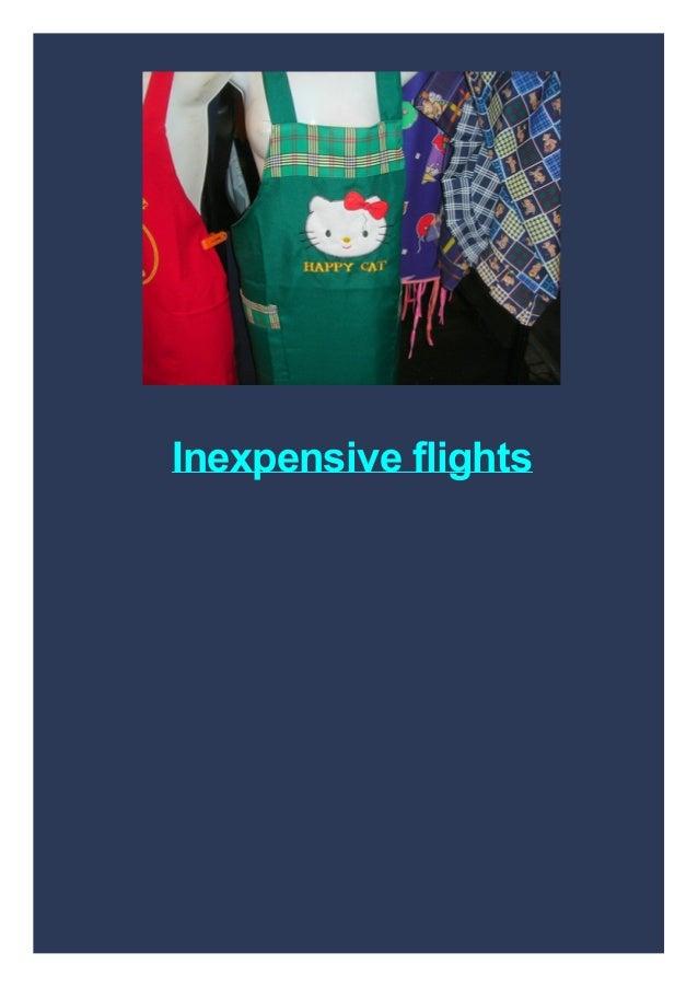 Inexpensive flights