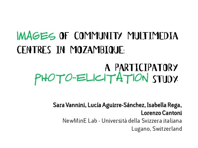 IMAGESSara Vannini, Lucía Aguirre-Sánchez, Isabella Rega,Lorenzo CantoniNewMinE Lab - Università della Svizzera italianaLu...
