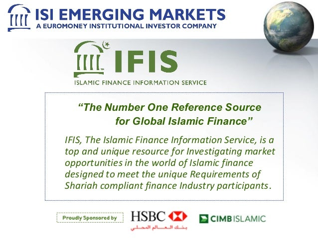 """The Number One Reference Source for Global Islamic Finance"" IFIS, The Islamic Finance Information Service, is a top and u..."