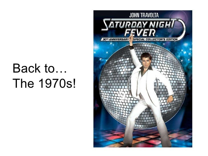 Back to… The 1970s!